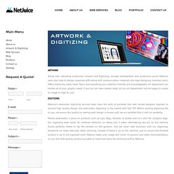 Artwork And Digitizing Services In Vadodara
