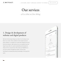 Digitoimisto Contrast – WordPress-verkkosivut, verkkokaupat & digitaalinen design.
