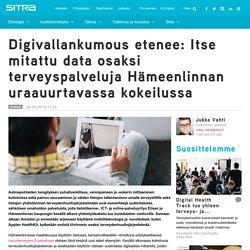 Digivallankumous etenee: Itse mitattu data osaksi terveyspalveluja Hämeenlinnan uraauurtavassa kokeilussa
