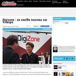 Digizone : un souffle nouveau sur Vinexpo