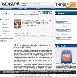 Dignificación Social - Tesis Doctoral
