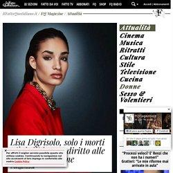 Lisa Digrisolo, solo i morti più belli hanno diritto alle pubbliche lacrime