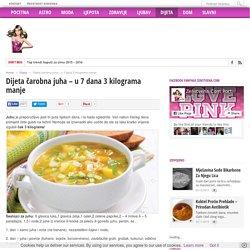 Dijeta čarobna juha - u 7 dana 3 kilograma manje - Ženstvena