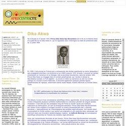 Dika Akwa « Afrocentricité