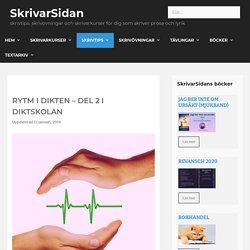 Rytm i dikten – del 2 i Diktskolan av poeten Iréne Svensson Räisänen SkrivarSidan.nu