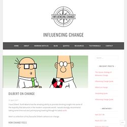 Dilbert on Change – Influencing Change