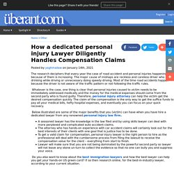 How a dedicated personal injury Lawyer Diligently Handles Compensation Claims