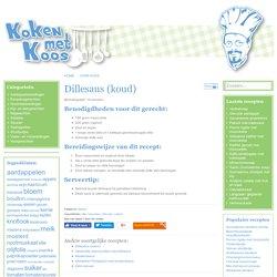 Recepten voor de lekkerste gerechten vind je bij Koken met Koos