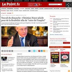 """Travail du dimanche : Christian Noyer plaide pour de la flexibilité afin de """"créer de l'emploi"""""""