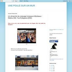 Un dimanche de craquage livresque à Bordeaux : Détenu 042, Yua Kotegawa (2002)