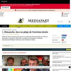 L'interview d'Emmanuel Macron par Mediapart du vendredi 5 mai