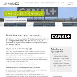 Relation client digitale - Social CRM — Cas client Canal+