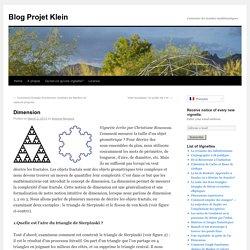 Blog Projet Klein