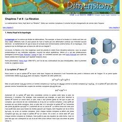Dimensions Chapitre 7 et 8