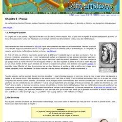 Dimensions Chapitre 9