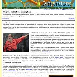 Dimensions Chapitres 5 et 6