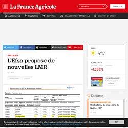 FRANCE AGRICOLE 29/11/16 Diméthoate - L'Efsa propose de nouvelles LMR