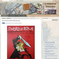 Sword of Rome (GMT) (CDG Serie #4)