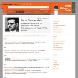 Liste chronologique des oeuvres - brahms-info