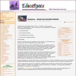 Dinámica - FOLIO EN CUATRO PARTES