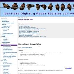 Dinámicas de aula - Identidad Digital y Redes Sociales con menores