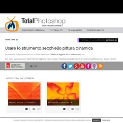 Usare lo strumento secchiello pittura dinamicaTotal Photoshop - Il primo sito di Video tutorial in Italiano su Photoshop, Fotografia, Illustrator, Premiere, After Effects, Dreamweaver e WordPress - Total Photoshop - Il primo sito di Video tutorial in Ital