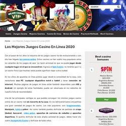 Gane dinero en los mejores juegos casino de la web