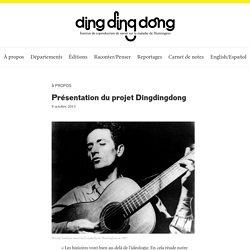 Dingdingdong — Présentation du projet Dingdingdong
