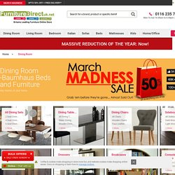 Buy Cheap Dining Tables And Chairs Sets From Furniture Direct UK - Baumhaus Mobel Oak Furniture - Furniture Direct UK