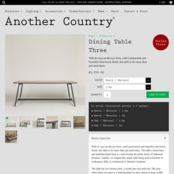 Dining Table Three – Another Country