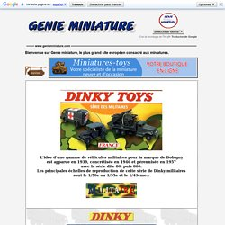 Dinky Toys militaire France