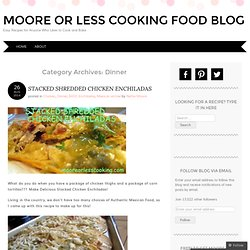 Moore or Less Cooking Food Blog