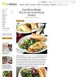 Easy Dinner Recipe: Slow-Cooker Lemon Garlic Chicken Recipes from The Kitchn