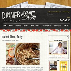 Dinner: A Love Story Instant Dinner Party