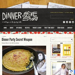Dinner: A Love Story Dinner Party Secret Weapon
