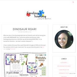 Dinosaur Roar! - creating & teaching