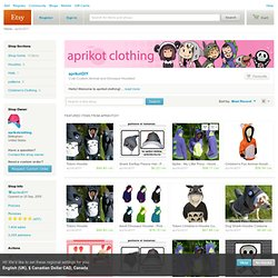 View clothing by aprikotDIY on Etsy