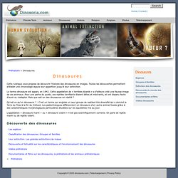 Planete Dinosaure. En Images et Videos