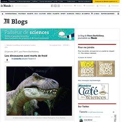 Les dinosaures sont morts de froid