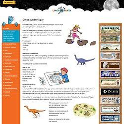 Dinosauriefotspår