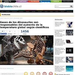 Gases de los dinosaurios son responsables del aumento de la temperatura global según científicos