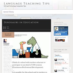 Dinosaurs in Education – Language Teaching Tips