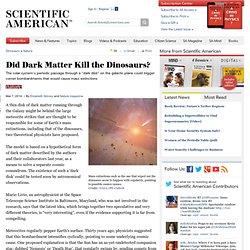 dark matter and the dinosaurs pdf