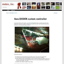 Ikea DIODER custom controller