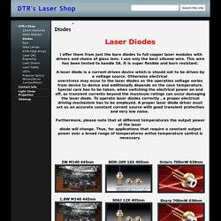 Diodes - DTR's Laser Shop