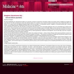 Diogène (Syndrome de) - Médecine des Arts