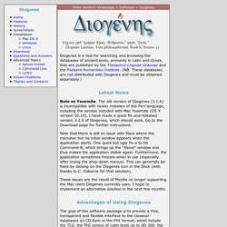 Diogenes Home Page