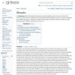 Dionysies