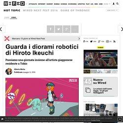 Guarda i diorami robotici di Hiroto Ikeuchi