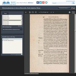 Historia plantarum et vires ex Dioscoride, Paulo Aegineta, Theophrasto, Plinio, & rece[n]tioribus Graecis, iuxta elementoru[m] ordine[m] /
